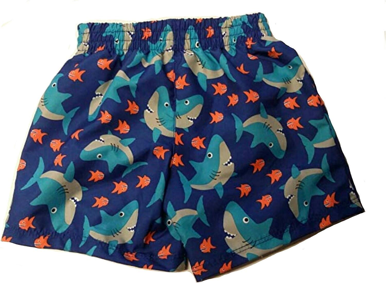 OP Baby Boy Solid Swim Trunks