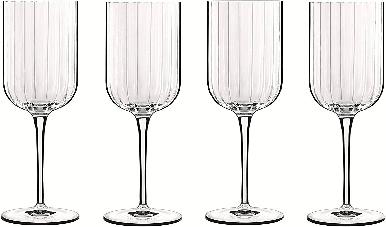 Bach - Copa para Vino Tinto (40 cl, Cristal, en Caja de Regalo, 4 Unidades), Transparente: Amazon.es: Hogar