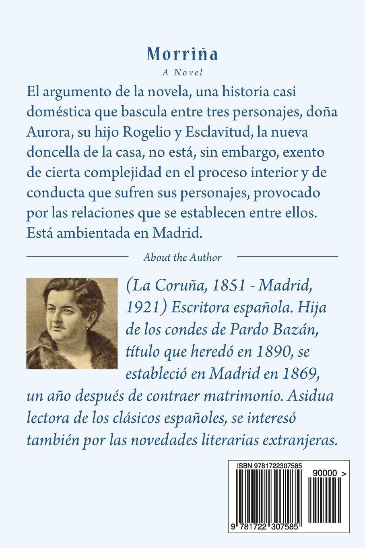 Morriña (Spanish Edition): Emilia Pardo Bazán, Angeles: 9781722307585: Amazon.com: Books