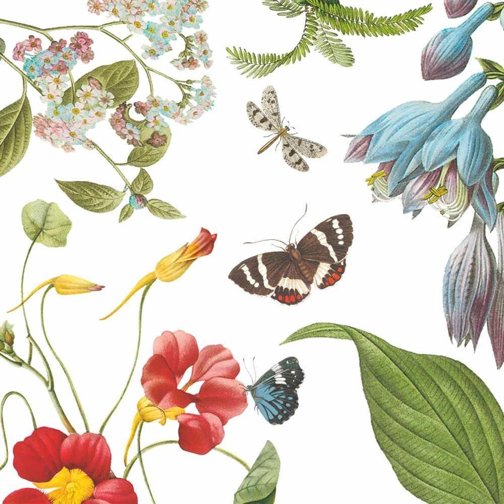 Paperproducts Design Design 1251918Hohe Qualität Getränk/Cocktail Victoria Garden Papier Servietten (20Stück), multicolor