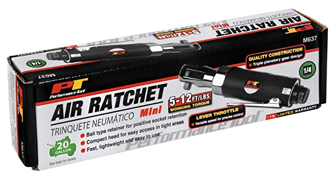 Amazon.com: Performance Tool M637 1/4-Inch Drive Air Ratchet: Home Improvement