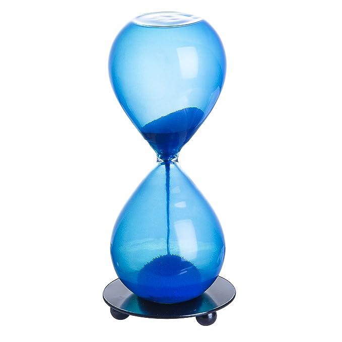 Clessidra magnetico timer a clessidra clessidra timer orologio elegante con base in legno per casa ufficio desktop decorazione dispaly