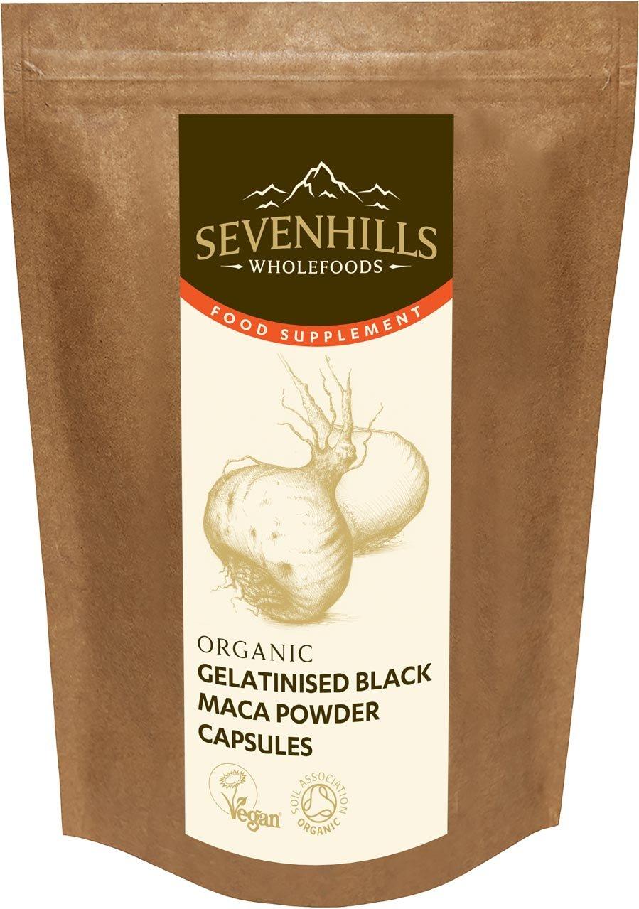 Sevenhills Wholefoods Maca Gelatinizada En Polvo Orgánico 250g: Amazon.es: Salud y cuidado personal