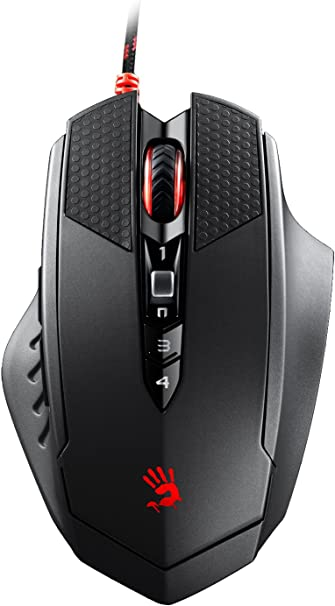 A4tech Bloody V5M Light Strike Micro Switch Professional Wired Gaming Mouse