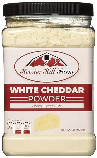 hoosier hill farm white cheddar cheese powder cheese lovers 2