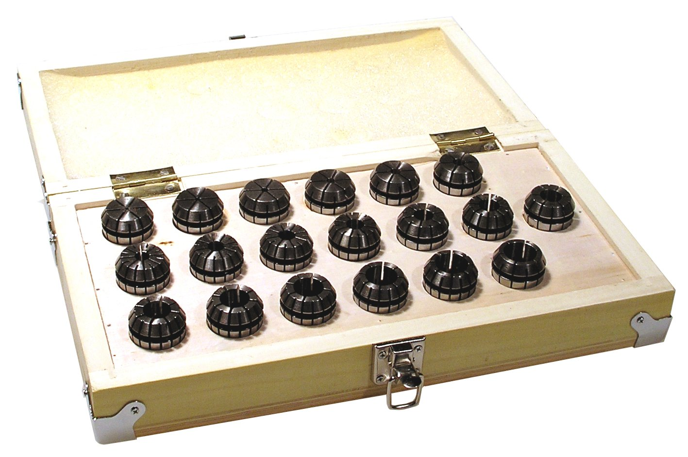 Value Line 10 Piece ER-25 Collet Set..[ 1/16 to 5/8 Inch by 1/16ths ]