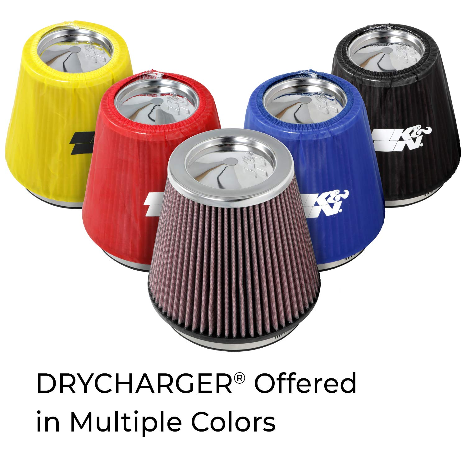 For Your K/&N 59-2015 Filter K/&N Engineering K/&N 22-2015PL Blue Drycharger Filter Wrap
