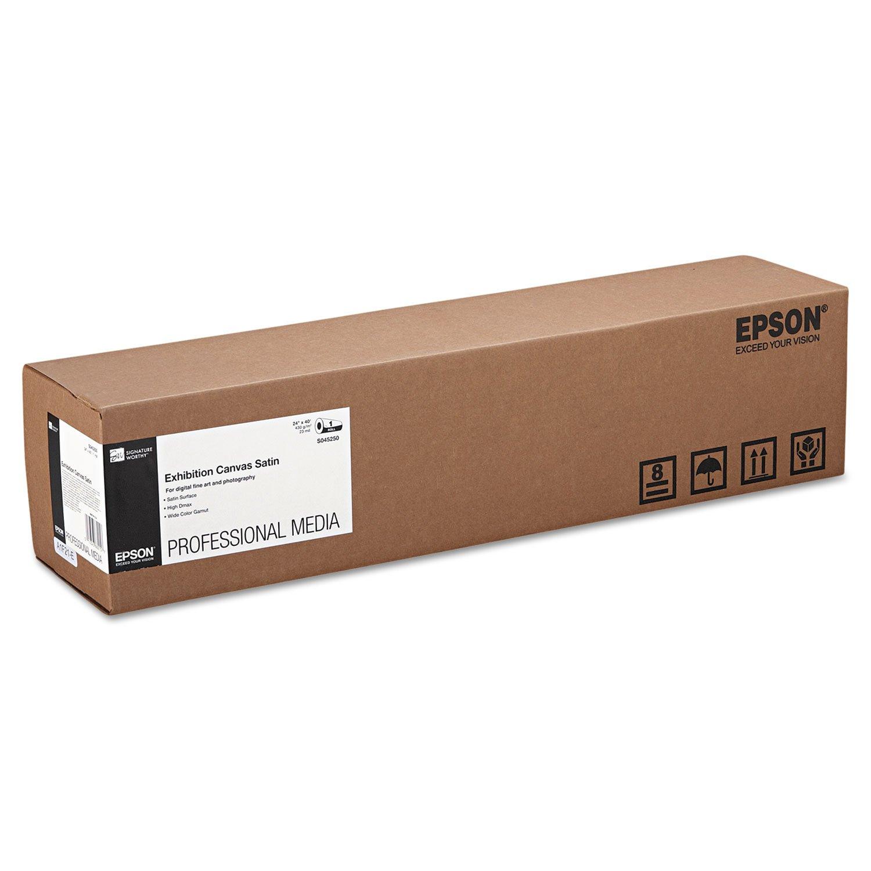 """Epson Exhibitionキャンバスサテンインクジェット写真用紙 60"""" x 40' Roll ホワイト B004MSX6Z2 60"""" x 40' Roll"""