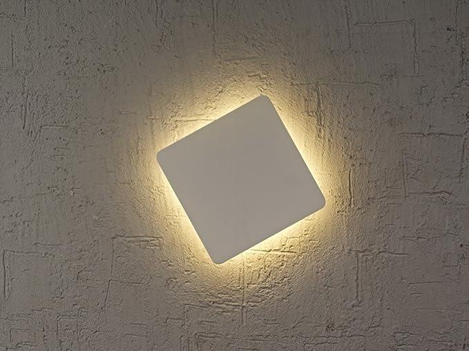 Mantra applique quadrata led w collezione bora bora colore