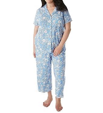 Karen Neuburger Kn Plus Size Printed Pajama Set 1X at Amazon Women s ... e8e2e997a