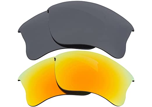 c77ff03c07 Image Unavailable. Image not available for. Colour  Best SEEK Replacement  Lenses for Oakley HALF JACKET 2.0 Silver Mirror Yellow