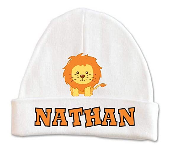 88ada261c36ac Amazon.com: Cute Lion Baby Beanie Hat Boys Winter Kids Warm Toddler ...