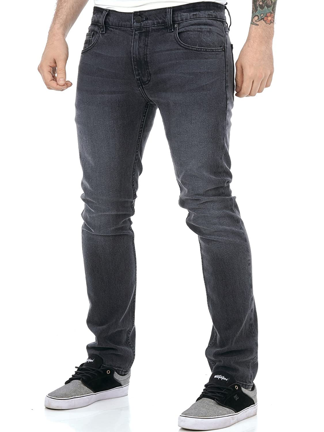 Element Black Mid Used Boom - Slim Fit Jeans