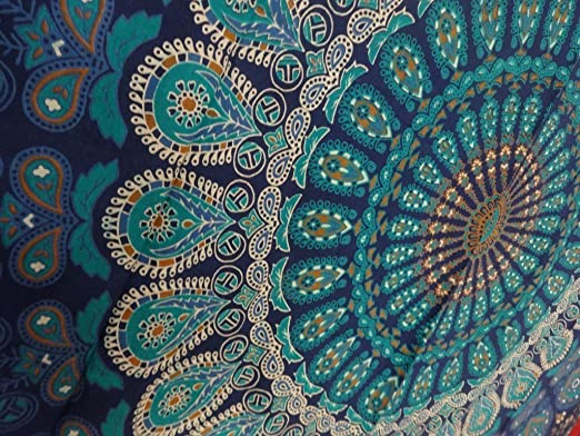 28 opinioni per Indian Mandala Wall Hanging Tapestry, Hippie Hippy Tapestries, Feather Peacock
