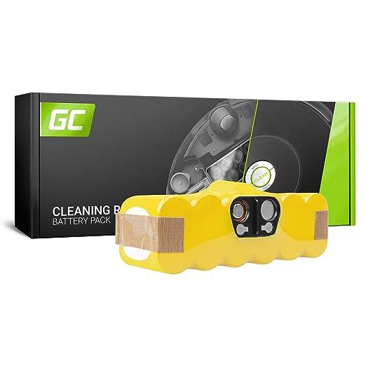 GC® (3Ah 14.4V Ni-MH pile) xLife Batería para iRobot Roomba 500 ...