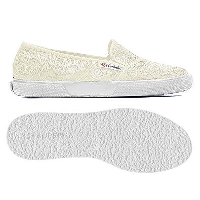 faa60d6935448 SUPERGA 2210-V30 MACRAMEW 996 COMPLET NOIR CHAUSSURES FEMME Sneakers ...
