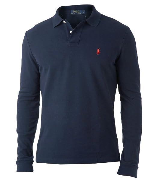 Ralph Lauren - Camiseta de manga larga - para hombre azul azul