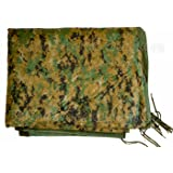 Military Outdoor Clothing Previously Issued U.S. G.I. USMC Marpat Camo Poncho Liner