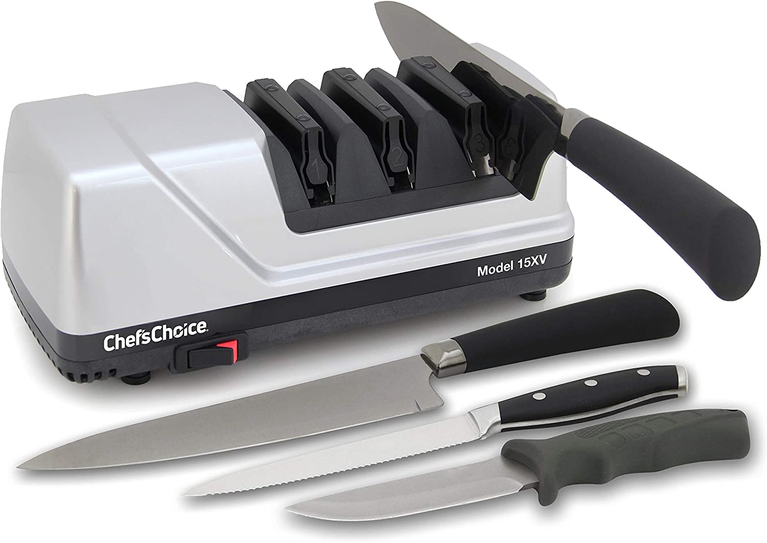 Amazon.com: ChefsChoice 15 Trizor XV EdgeSelect afilador de ...