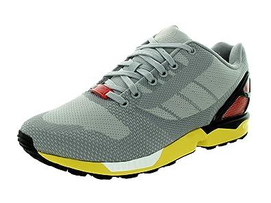 adidas Men's ZX Flux Weave Originals Clonix/Ltonix/Black Running Shoe 8 Men US