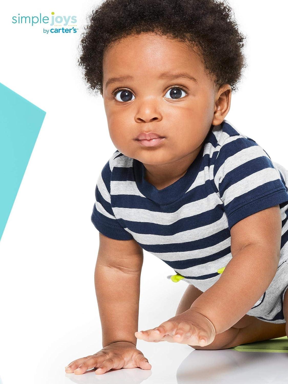 Simple Joys by Carters Baby Boys paquete de 3 peleles.