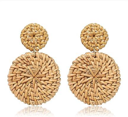 E2003 Fashion Jewelry Charm Acrylique Léopard Hoop Dangle Earrings