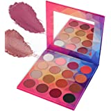 DE'LANCI Putty&Shimmer Eyeshadow Palette Makeup - Highly Pigmented Eyeshadow Kit Set(16 Color)