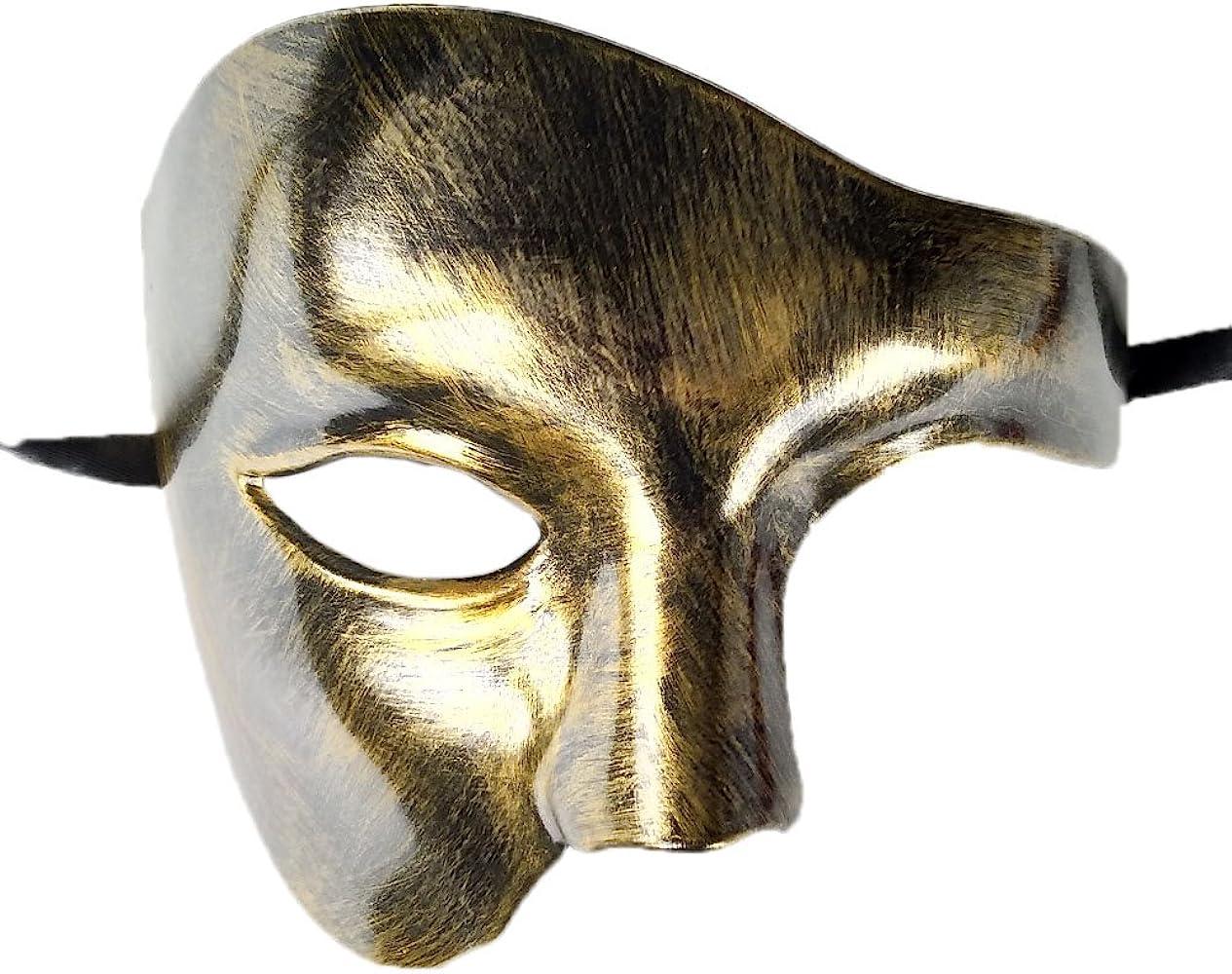 Phantom Of The Opera Venetian Masquerade Party Eyes Theatrical Half Face Mask X1