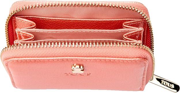 Tous Dorp - Monedero para Mujer, Rosa, 10 x 8 x 2.5 cm: Amazon.es: Zapatos y complementos