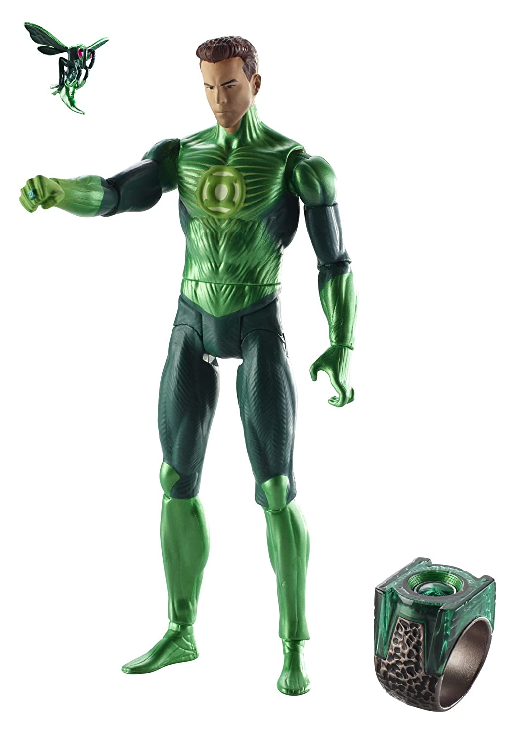 Grün Lantern Movie Masters Hal Jordan with Bzzd