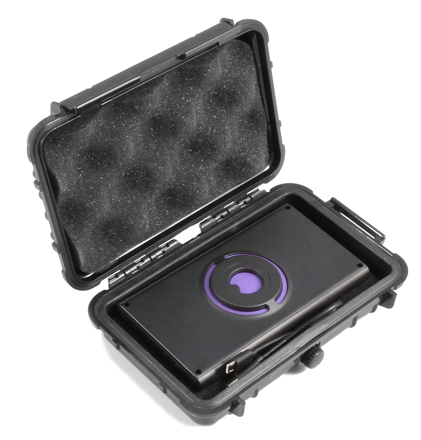 CASEMATIX Rugged Waterproof Imaging Sensor Case Compatible with Walabot DIY, Developer, Pro in Wall Imager and Cables - Includes CASE ONLY, Does NOT ...