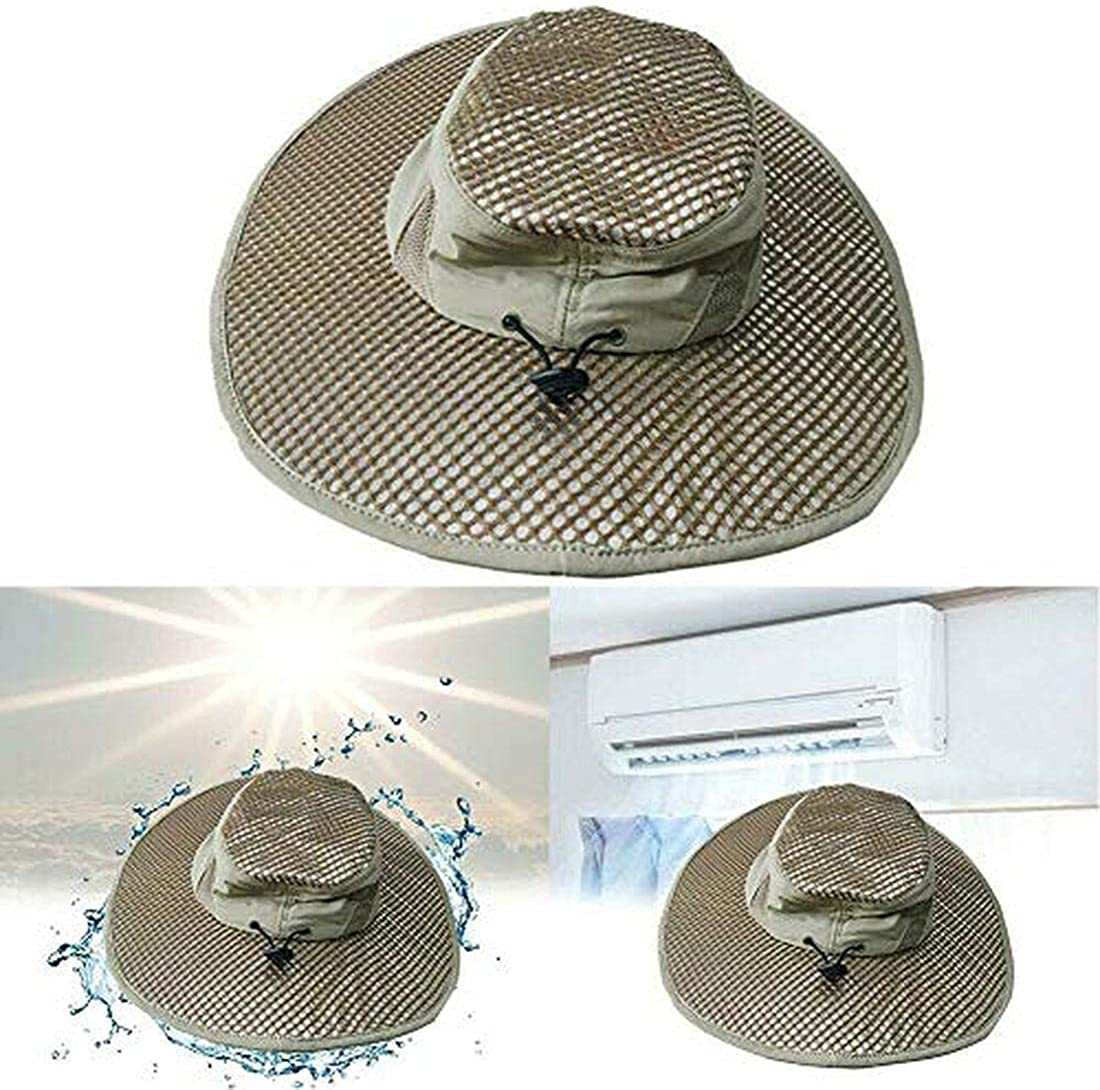Hydro Cooling Bucket Hat Arctic Breathable Hat with UV Protection Keeps You Cool & Protected Silver