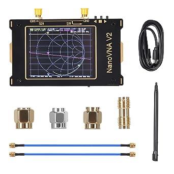InLoveArts Analizador de redes vectoriales Analizador de antena 50KHz-3GHz HF VHF UHF, 2000mAh recargable Puede medir parámetros S, relación de onda ...