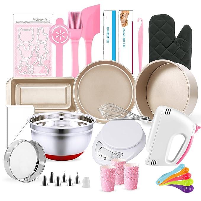 Amazon.com: Juego completo de utensilios de pastelerí ...