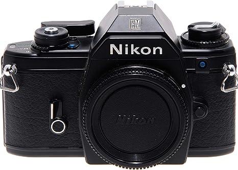 Nikon EM negra Cámara réflex A película con obturador ...