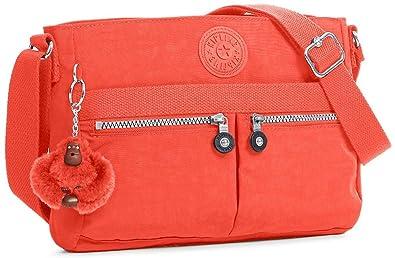 59658dd766a1 Kipling Angie Solid Convertible Crossbody Bag (Blood Orange ...
