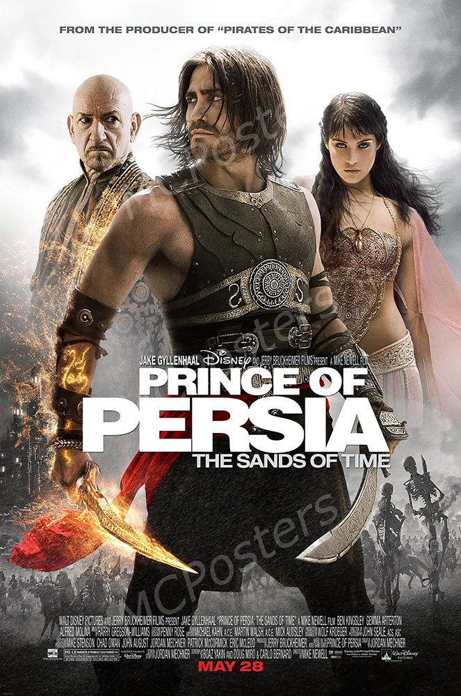 MCPosters - Disney Prince of Persia The Sands of Time Movie Poster Glossy Finish - MCP077