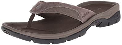 Columbia Men's Tango Thong II Athletic Sandal, Cordovan, Mud, ...