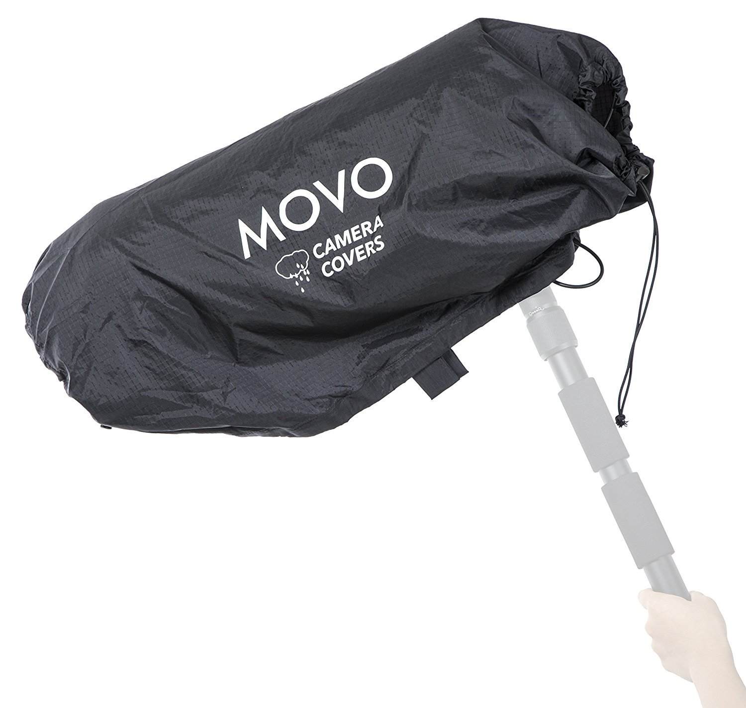Movo CRC31 Storm Raincover Protector for DSLR Cameras, Lenses, Photographic Equipment (XL Size: 31 x 14.5) by Movo