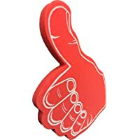(Red) - Giant Thumbs Up Red Foam Hand