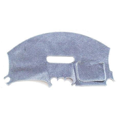 Grey Gray Dash Cover Dashmat Dashboard Mat Carpet for 1997-2002 Pontiac Firebird