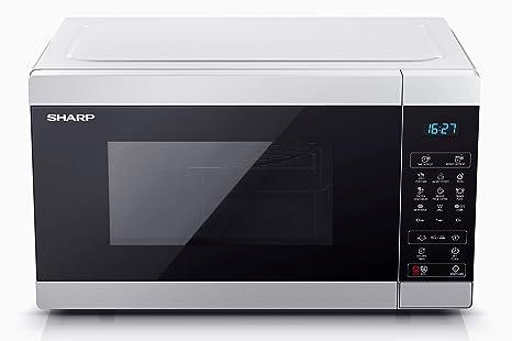 Microonda Sharp YC-MG51E-S Color Plata, 25 L - con Grill - Inox ...