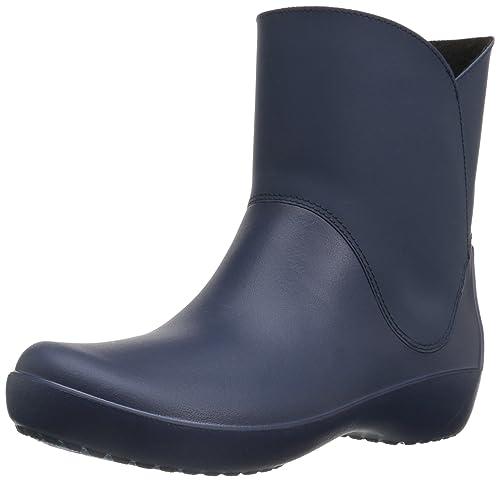 Rainfloegrphcbt, Zapatillas de Estar por Casa para Mujer, BLU (Navy), 37-38 EU Crocs