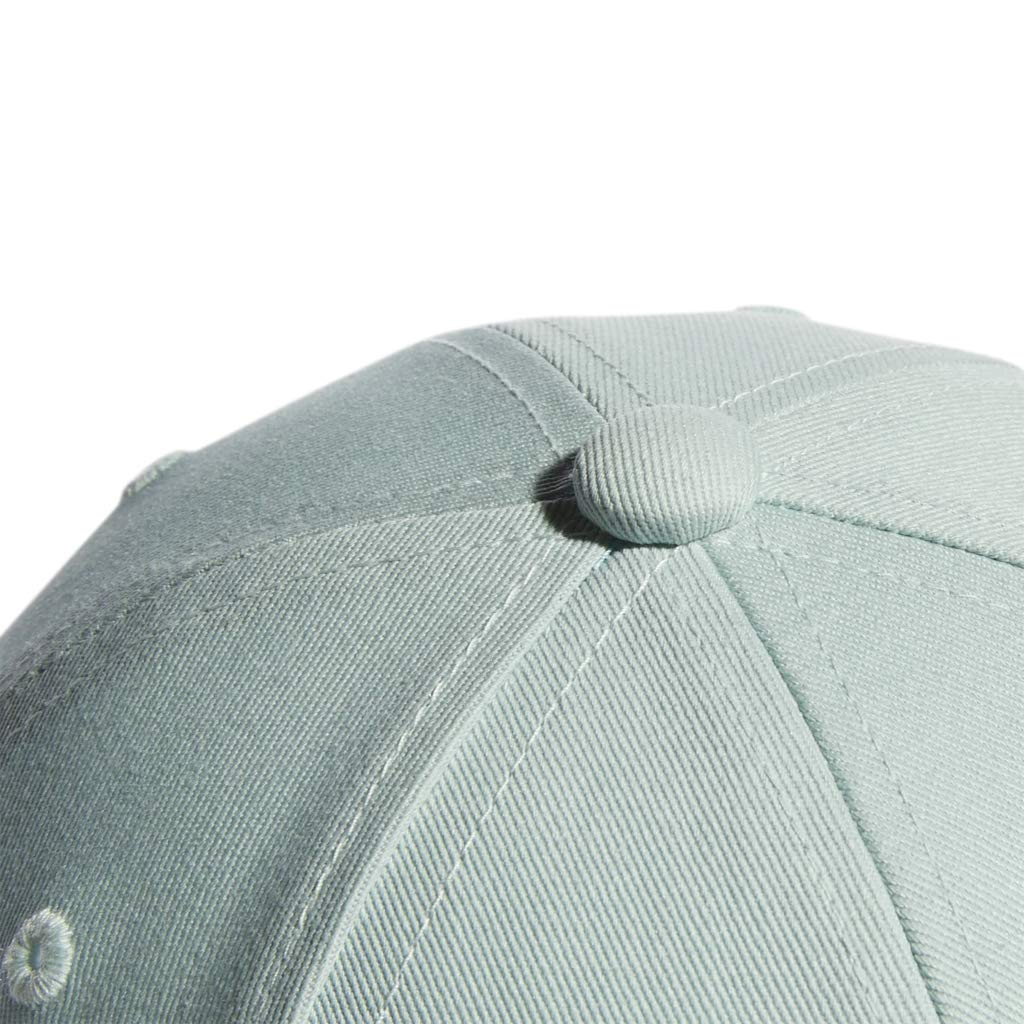 adidas Women's Originals Outline Logo Relaxed Adjustable Cap, Ash Green/White, One Size by adidas (Image #6)