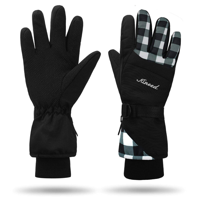 MCTi Waterproof Windproof Womens Winter Ski Skiing Snowboard Snow Warm Gloves