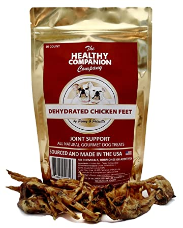 Amazon Dehydrated Chicken Feet 10 Count Pet Supplies