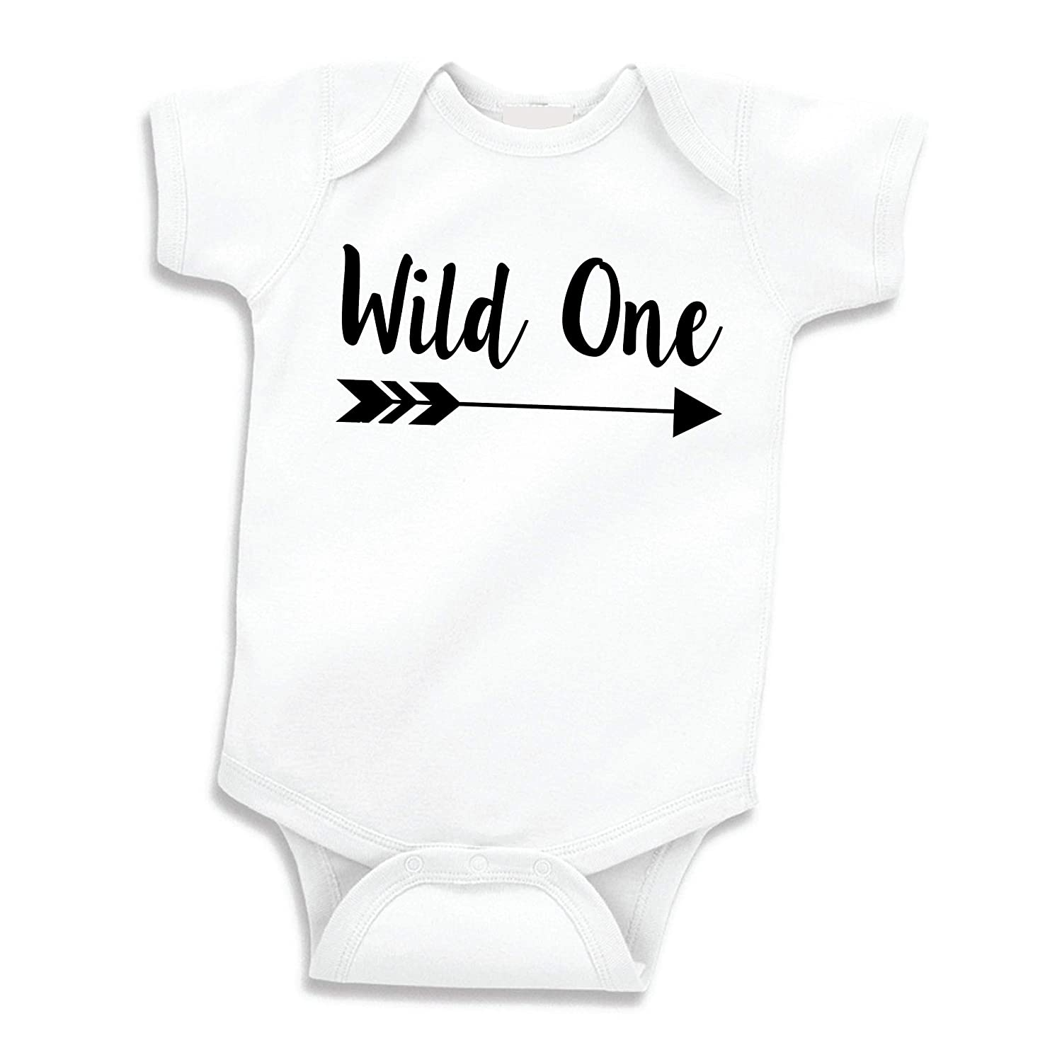 Amazon Bump And Beyond Designs Baby Boy Birthday Shirt Wild One First Outfit Clothing
