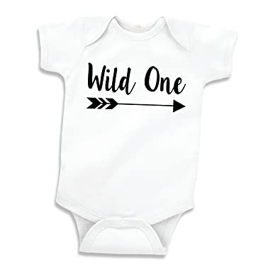 Baby Boy Birthday Shirt Wild One First Outfit 6 12 Months