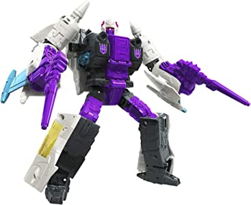 "Transformers Generations - Earthrise War for Cybertron E21 - Decepticon Snapdragon Triple Changer 7"" Voyager Action Figure - Kids Toys - Ages 8+"