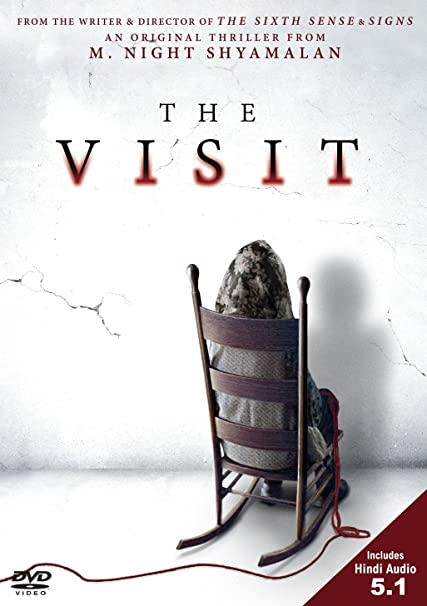 Poster of The Visit 2015 Full Hindi Dual Audio Movie Download BluRay Hd 720p